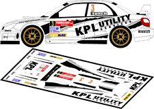 DECALS 1/43 SUBARU IMPREZA WRC - #3 - LYNCH - RALLYE ULSTER 2008 - D43146