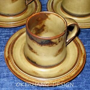 """Exzellent! LANGENTHAL """"SAHARA""""___2-tlg. Kaffeebecher - 5x da"""