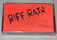 NEW Still Sealed RIFF RATH' Ate Demos US AUDIO CASSETTE TAPE rare 1987 riff raff