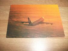 Lufthansa Postcard B747 Jumbo Jet. Unused. Details on reverse. Ca. 30 years old