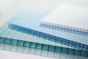 GREENHOUSE glazing 6mm Polycarbonate panel roofing sheets twin wall DIY Kit QTY5