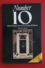 NUMBER 10 - PRIVATE LIFE OF SIX PRIME MINISTERS by Terence Feely (HC/DJ, 1983)