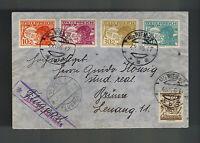 1926 Vienna Austria airmail Cover to Brno Czechoslovakia