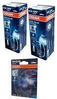 H3 OSRAM Cool Blue Intense 4200K PK22s 2st 64151CBI + W5W Cool Blue Intense