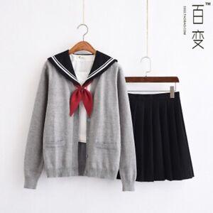 Japanese JK uniform skirt note school uniform sailor suit college style suit