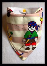 Baby Dribble Bib Pirate Ships Costume Feeding Outfit Skull Crossbones Bandana