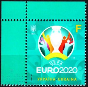 UKRAINE 2021-07 Sport: Soccer Europa. UEFA Cup EURO-2020. CORNER, MNH