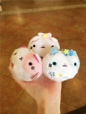 Set of 3PCS Neko Atsume Cat Backyard Cat Meow Collection Dango Mochi Plush