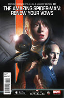 The Amazing Spider-Man Renew Your Vows #1 Shield variant comic 1st Print NM