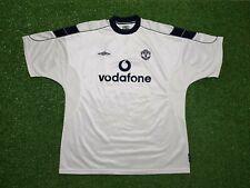 Manchester United Maillot XXL 2000 2001 Umbro Extérieur T-Shirt Jersey Vodafone