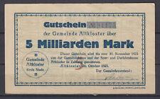 Gemeinde Altkloster - 5 Milliarden Mark
