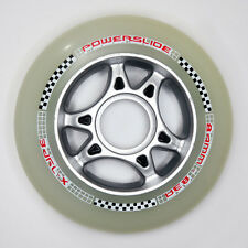 1 set = 8 Powerslide x-type Speed inline Renn roles papel 84mm 83a