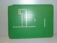 LEGO® Platte 24 x 32 Noppen in grün mit Punkten Rasen Bau Grund P032