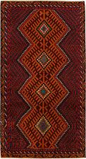 Vintage Style Persian Tribal Handmade Rug 6'.1''x3'.2'' ft/187x98cm (E26)