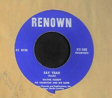 HEAR IT R&B Wayne Handy Renown 102 DURHAM NC Could It Be and Say Yeah