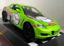 Motormax 1/24 Scale 73778 Mazda RX-8 RX8 Race version Green Diecast model car