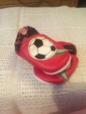 MINI MORBIDA PELLE SCARPE NEONATO BABY TAGLIA 0-6 Di Calcio Design GIRL/BOY