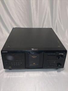 Sony CDP-CX455 400 CD Mega Player No Remote