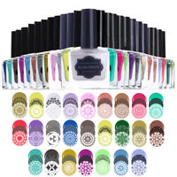 BORN PRETTY 15ml Mulit-color Stempel Nagellack Nail Art Stamping Plate Polish