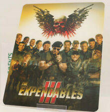 THE EXPENDABLES 3 - Lenticular 3D Flip Magnet Cover FOR bluray steelbook