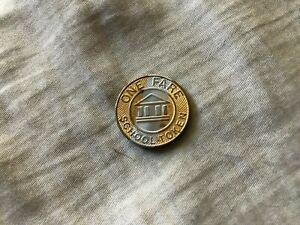 SEPTA Philadelphia Pennsylvania vintage late 20th century school fare token coin