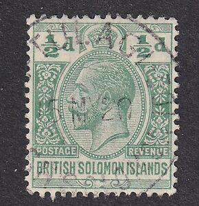 Solomon Islands 1914 1/2d green S.G.23  used