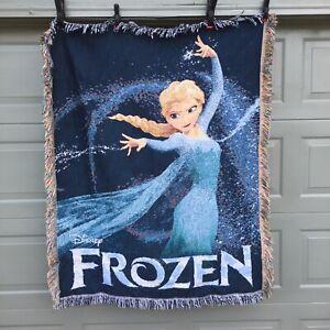"Disney Frozen Blanket / Throw - Elsa-  Made by Northwest Made in USA - 42"" x 57"""