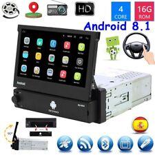 7'' Autoradio 1 Din Android 8.1 GPS Navi Wifi Bluetooth USB  Coche MP5 Player