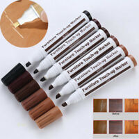 Wood Furniture Touch Up Kit Marker Pen Wax Scratch Filler Remover Repair Fix