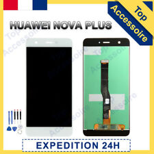 VITRE TACTILE +ECRAN LCD ORIGINAL PRET-A-MONTER POUR HUAWEI NOVA PLUS 2016 BLANC