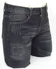 DESIGUAL jeans DENIM JEANS 4 gris Stretch slim fit femme 71D2JA7 coloris 5162