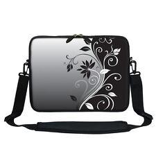 """13 13.3"""" Laptop Sleeve Bag with Hidden Handle Shoulder Strap 2252"""