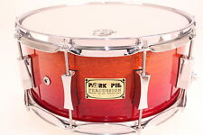 Pork Pie P'lux 6.5x14 Mahogany Snare (Yellow/Red Fade Gloss) *NEW
