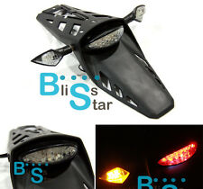 LED Dirt bike Rear Tail Light Turn Signals Honda XR 250 400 650 Motard CRF BSE2