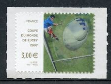 STAMP / TIMBRE FRANCE N° 4080 **  COUPE DU MONDE DE RUGBY  2007 / ADHESIF