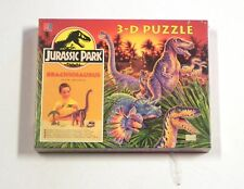 JURASSIC PARK  MB Hasbro 1993 puzzles 3D Brachiosaurus MIB MISB