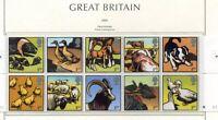 S3221) UK Great Britain 2005 MNH Farm Animals 10v