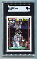 1992 Topps Michael Jordan All-Star #115 SGC 9 MINT HOF BULLS