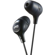 JVC HAFX38B Marshmallow Inner-Ear Headphones (Black)