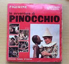 ALBUM DI FIGURINE PANINI - LE AVVENTURE DI PINOCCHIO 1972 - COMPLETO ORIGINALE