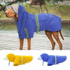 Waterproof Dog Raincoat Reflective Medium Extra Large Dog Hoodie Rain Clothes