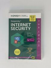 Kaspersky Internet Security 3-Devices Macs/PCs/Mobile/iOS & Windows Brand New