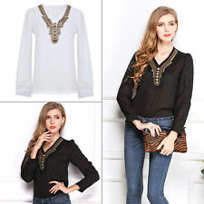 Unbranded Chiffon Casual Plus Size Tops for Women