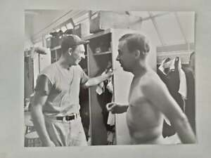 ORIGINAL 11 x 14 ARTHUR RICKERBY PHOTO OF DODGERS GIL HODGES & PEE WEE REESE