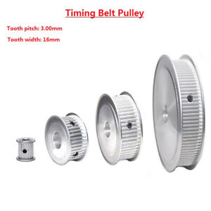 3M32-120T Timing Belt Pulley Synchronous Wheel, Bore 5-40mm, For 15mm Width Belt
