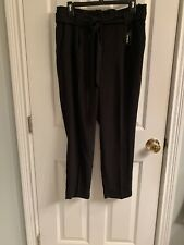 NWT-Women's Express Ankle High Rise Paperbag Waist Dress Pants-Size 10P