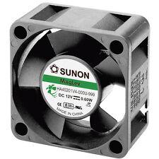 Sunon HA40201V4-0000-999 sin escobillas 12V DC Ventilador Axial, 40 X 40 X 20mm