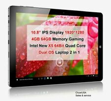 "ChuwiUSA Hi10 Plus 10.8"" 4GB/64GB Windows 10 Android 5.1 Tablet PC"