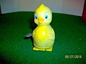 "Vintage Key Wind Up Toy 3.5"" Walking Duck made in Japan"