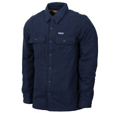 Patagonia Mens - Insulated Fjord Flannel Jacket - Navy Blue